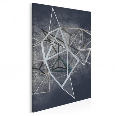 Głębia niebytu - nowoczesny obraz na płótnie - 50x70 cm