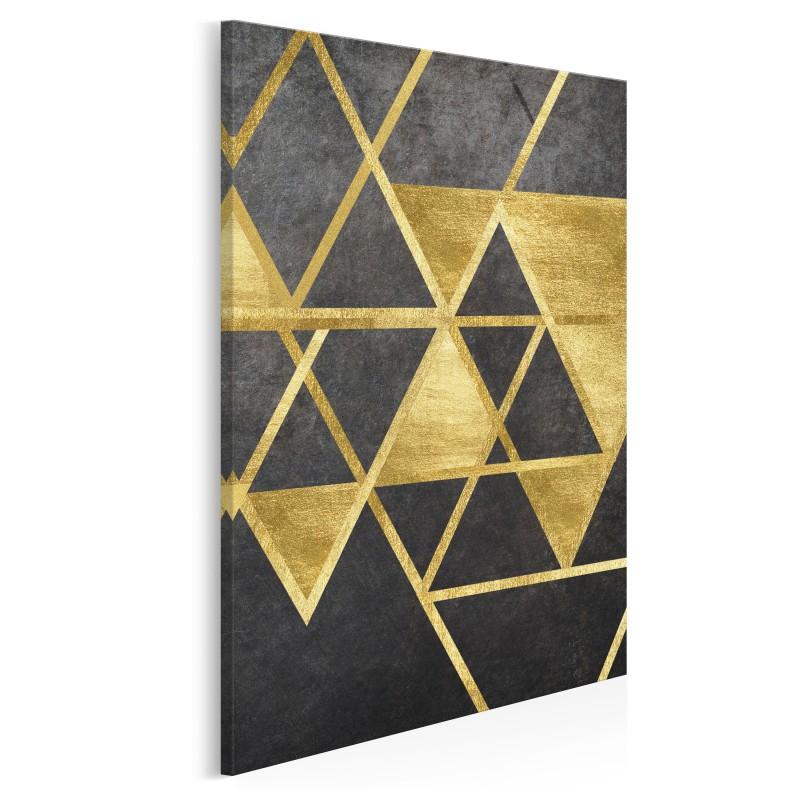 Szlachetny blask - nowoczesny obraz na płótnie - 50x70 cm