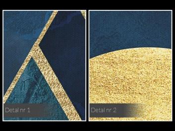 Egipskie noce - nowoczesny obraz na płótnie - 50x70 cm
