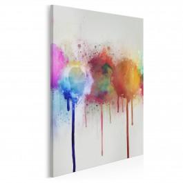 Absorpcja - nowoczesny obraz na płótnie - 50x70 cm