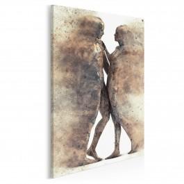 Metafizyka miłości - nowoczesny obraz na płótnie - 50x70 cm