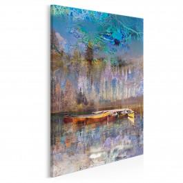 Tchnienie wolności - nowoczesny obraz na płótnie - 50x70 cm