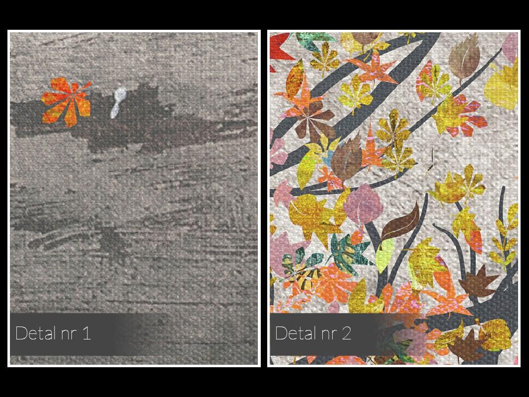 Małe szczęścia - nowoczesny obraz na płótnie - 50x70 cm