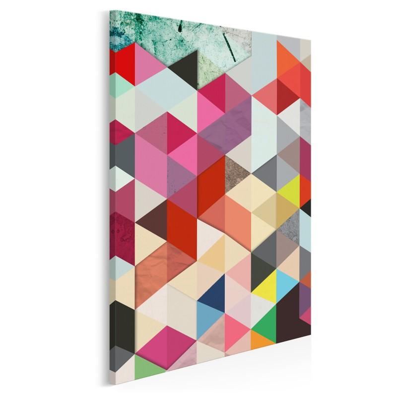 Pozory i złudzenia - nowoczesny obraz na płótnie - 50x70 cm