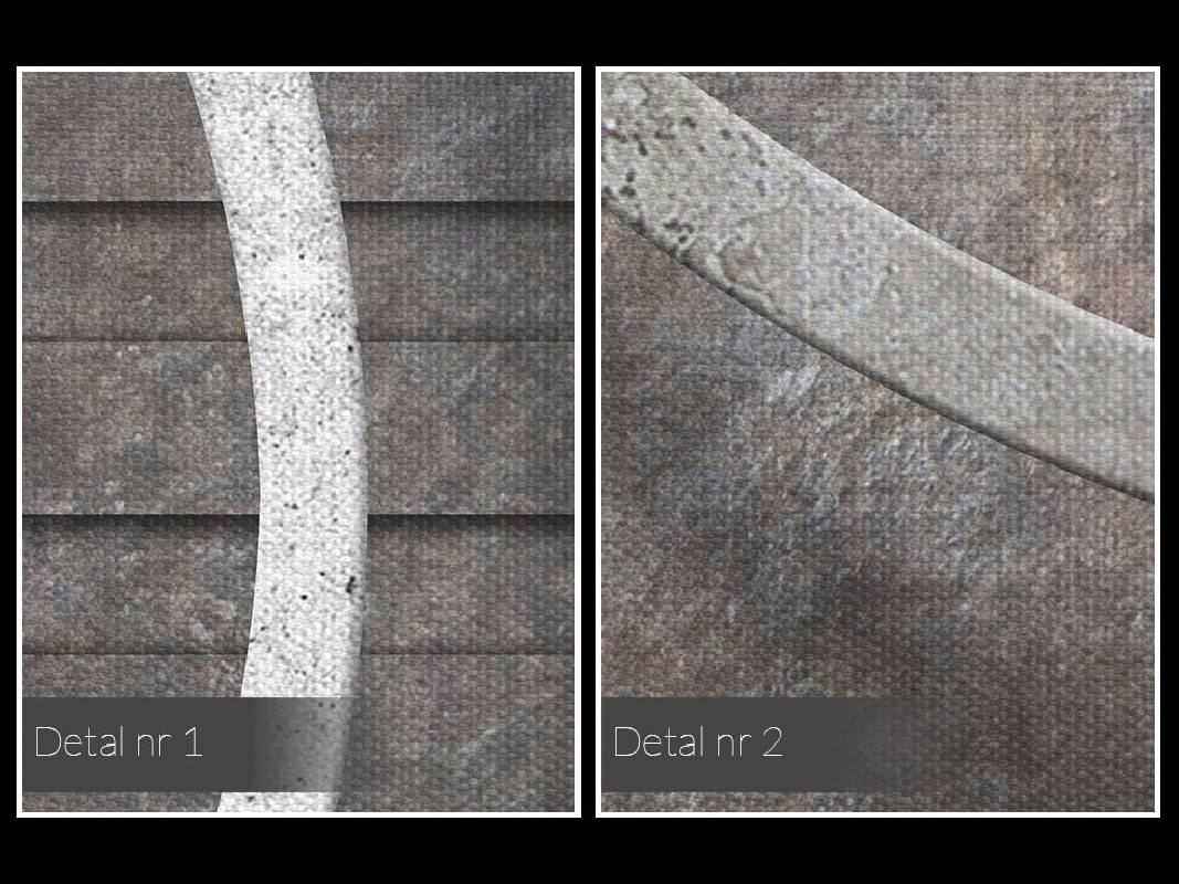 Stalowi giganci - nowoczesny obraz na płótnie - 120x80 cm
