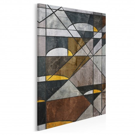 Dwoista natura - nowoczesny obraz na płótnie - 50x70 cm
