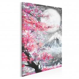 Święto Hanami - nowoczesny obraz na płótnie - 50x70 cm