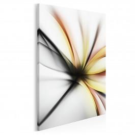 Wdzięczne ekwilibrium - nowoczesny obraz do sypialni - 50x70 cm