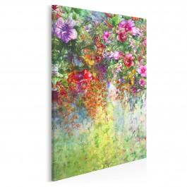 Wonny woal - nowoczesny obraz na płótnie - 50x70 cm