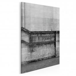 Banksy - Dziewczynka - nowoczesny obraz na płótnie - wariant 2 - 50x70 cm