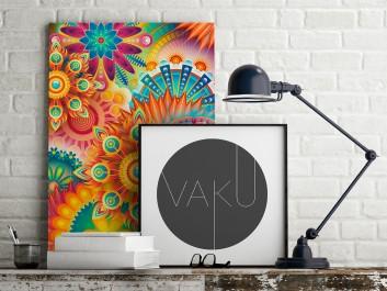 Oczyszczająca mantra - nowoczesny obraz na płótnie - 50x70 cm