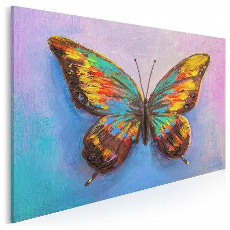 Polot - nowoczesny obraz na płótnie - 120x80 cm