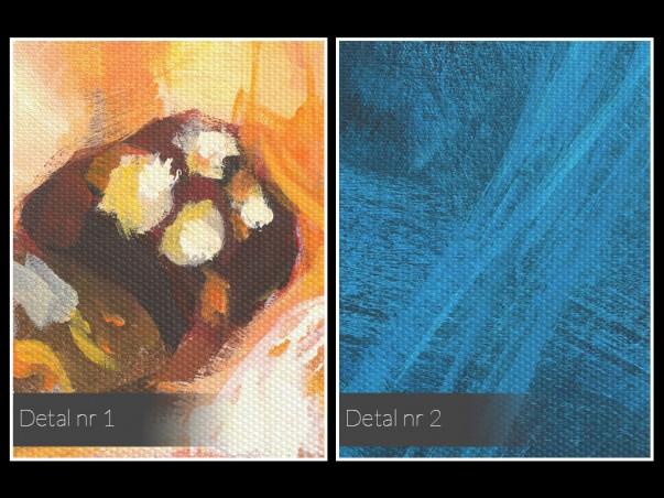 Melondramat - nowoczesny obraz na płótnie - 120x80 cm
