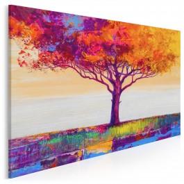 Matka Ziemia - nowoczesny obraz na płótnie - 120x80 cm