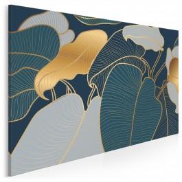Mądrość natury - nowoczesny obraz do sypialni - 120x80 cm