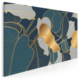 Myśli natury - nowoczesny obraz do sypialni - 120x80 cm