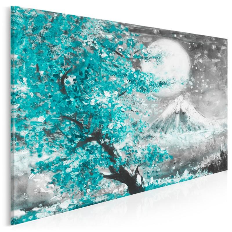 Święto Umi-no Hi - nowoczesny obraz na płótnie - 120x80 cm
