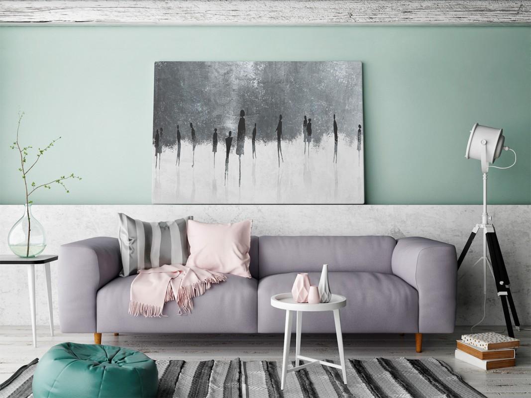Wolność w niewoli - nowoczesny obraz do sypialni - 120x80