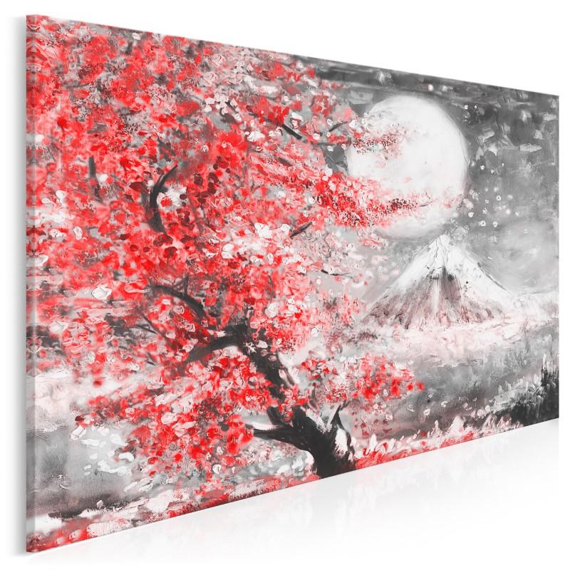 Święto O-bon - nowoczesny obraz do sypialni - 120x80 cm