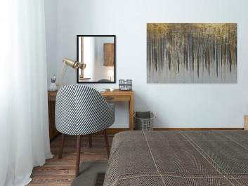 Komnata dobrobytu - nowoczesny obraz na płótnie - 120x80 cm