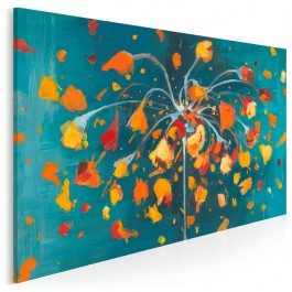 C'est la vie! - nowoczesny obraz na płótnie - 120x80 cm