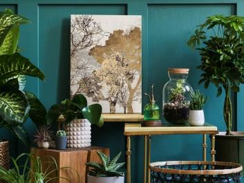 Energia spokoju - nowoczesny obraz do sypialni - 50x70 cm
