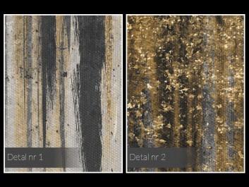 Komnata dobrobytu - nowoczesny obraz na płótnie - 80x80 cm