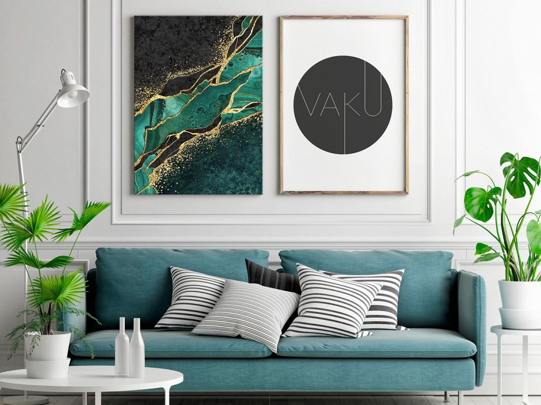 Nienasycenie - nowoczesny obraz do salonu - 50x70 cm