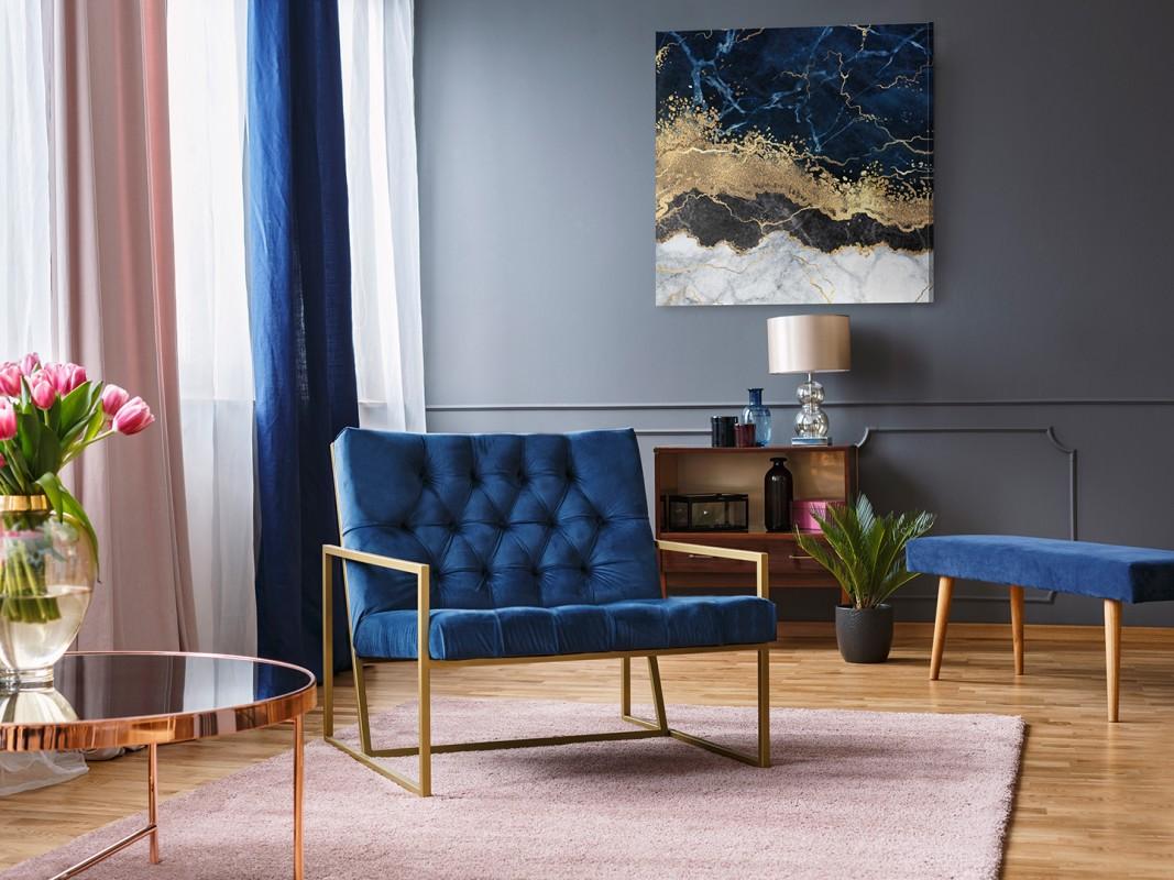 Epilog snu - nowoczesny obraz do salonu - 80x80 cm