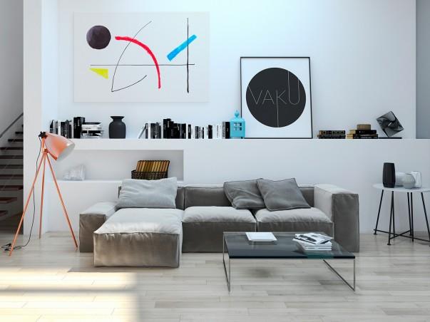 Filozofia egzystencji - nowoczesny obraz na płótnie - 120x80 cm