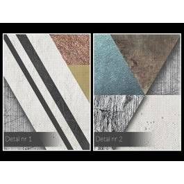 Teoria względności - nowoczesny obraz na płótnie - 120x80 cm
