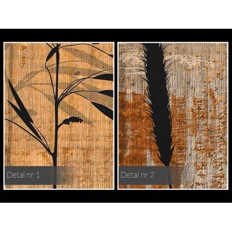 Pokłosie - nowoczesny obraz na płótnie - 120x80 cm