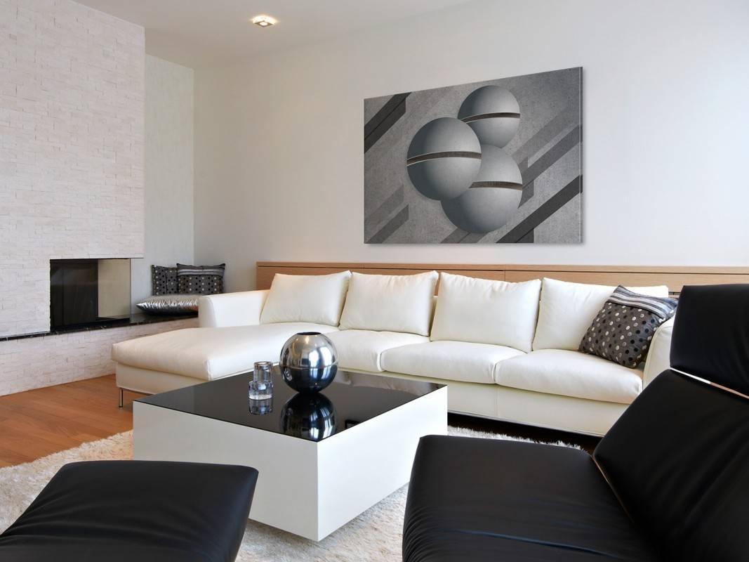 Głos przestrzeni - nowoczesny obraz na płótnie - 120x80 cm