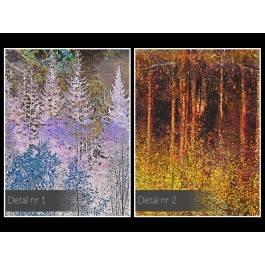 Tchnienie wolności - nowoczesny obraz na płótnie - 120x80 cm