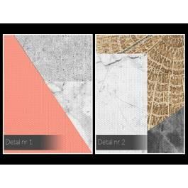 Firmament ekspresji - nowoczesny obraz na płótnie - 120x80 cm