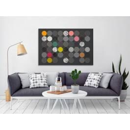 Wielka szarada - nowoczesny obraz na płótnie - 120x80 cm