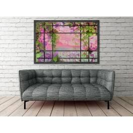Wiszące ogrody - nowoczesny obraz na płótnie - 120x80 cm