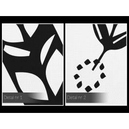 Lekkość bytu - nowoczesny obraz na płótnie - 120x80 cm