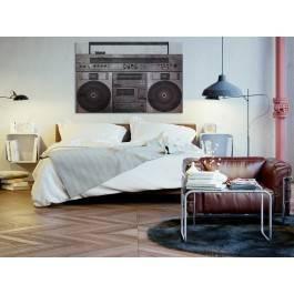 Muzeum dźwięku - nowoczesny obraz na płótnie