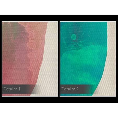 Amulet pomyślności - nowoczesny obraz na płótnie - 120x80 cm
