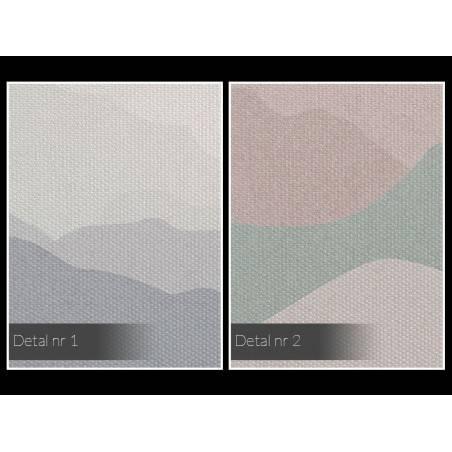 Wzgórza nadziei - nowoczesny obraz na płótnie - 120x80 cm