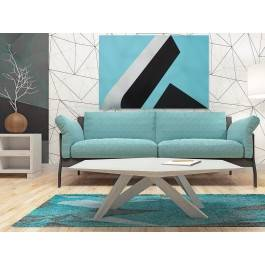 Równowaga w betonie - fotoobraz na płótnie - 120x80 cm