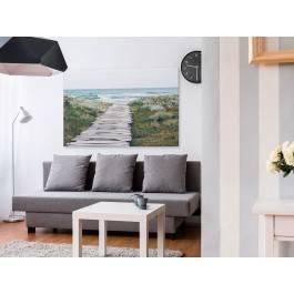 Most przez wydmy - zdjęcie na płótnie - 120x80 cm