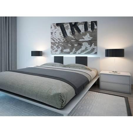 Znaki czasu - fotoobraz do sypialni - 120x80 cm