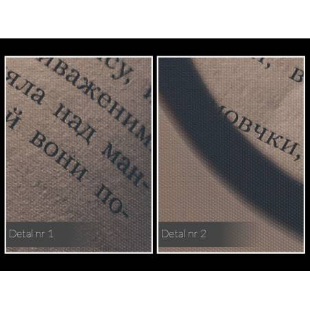 Oczy wyobraźni - nowoczesny obraz na płótnie - 120x80 cm