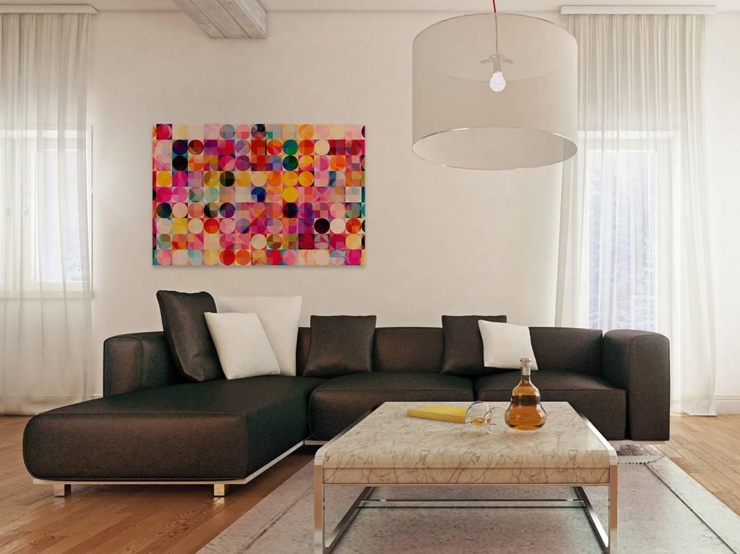 Odprężający chill out - nowoczesny obraz na płótnie - 120x80 cm