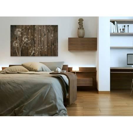 Dmuchawce na wietrze - nowoczesny obraz na płótnie - 120x80 cm