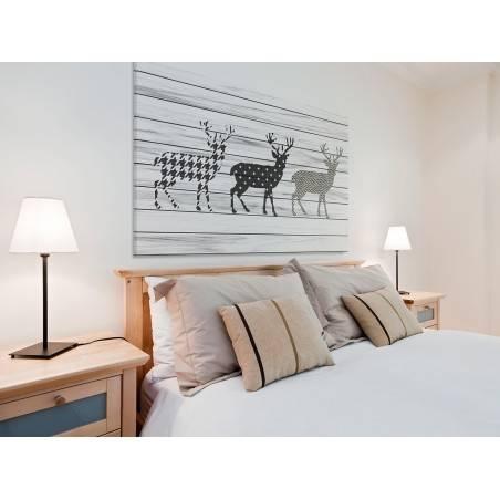 Skandynawski szyk - nowoczesny obraz na płótnie - 120x80 cm