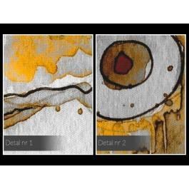 Słoneczny czar - nowoczesny obraz do salonu - 120x80 cm