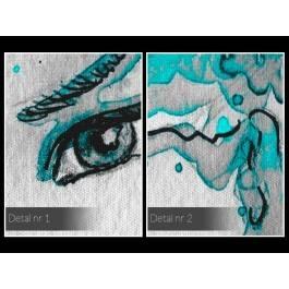 Morski urok - nowoczesny obraz na płótnie - 120x80 cm